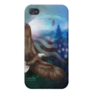 Freedom's Flight - Eagle Art Case for iPhone 4