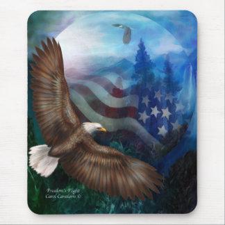 Freedom's Flight - Eagle Art Mousepad