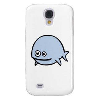 FreeDos Fish - Blue Galaxy S4 Case
