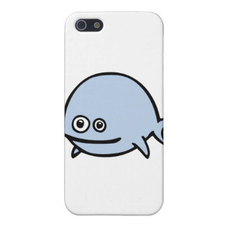 FreeDos Fish - Blue iPhone 5 Cover