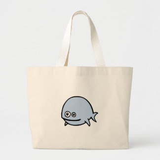 FreeDos Fish - Blue Tote Bags