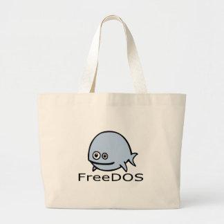 FreeDos Fish - Blue with Name Bag