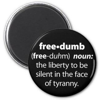 Freedumb Imán