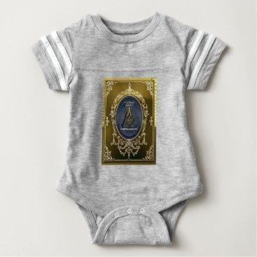 USA Themed freeemasonryh baby bodysuit
