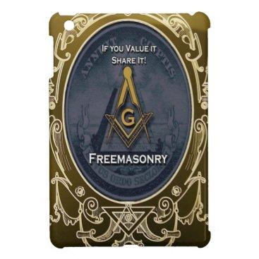 USA Themed freeemasonryh iPad mini cases