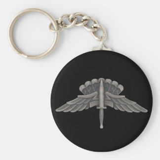 Freefall (HALO) Basic Round Button Keychain