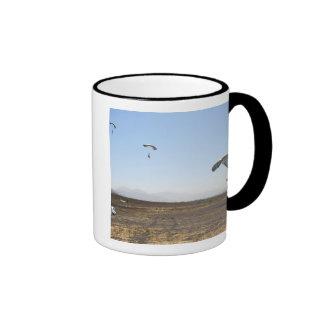 Freefall parachute jumpers ringer mug