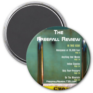 Freefall Review magnet
