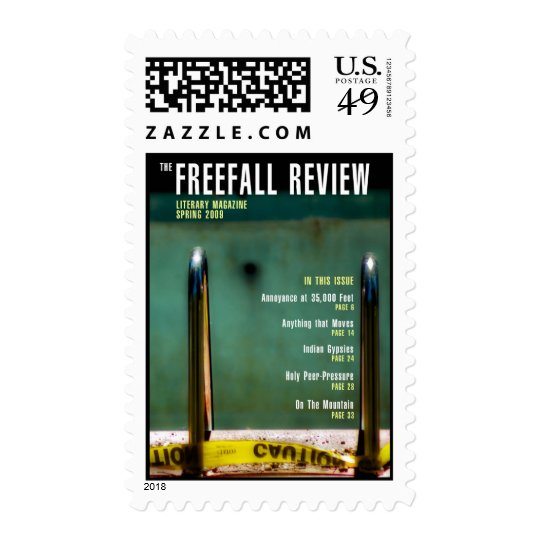 Freefall stamp