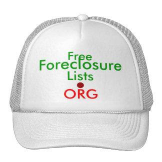 FreeForeclosureLists.ORG - Ad Cap Mesh Hat