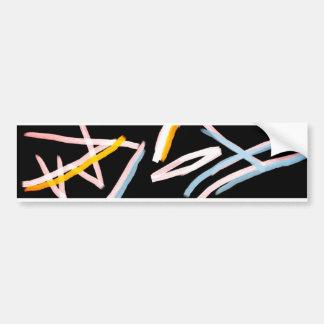 FreeForm Art Bumber Sticker
