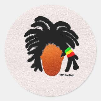 Freeformed Locs Sticker