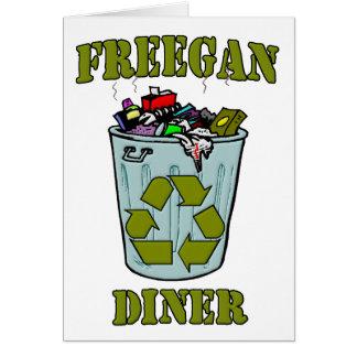 Freegan Diner Card