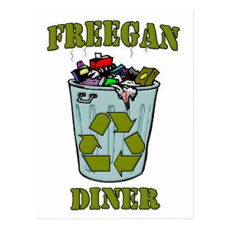 Freegan Diner Postcard