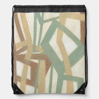 Freehand Painting by Norman Wyatt Drawstring Bag