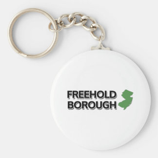 Freehold Borough, New Jersey Keychain
