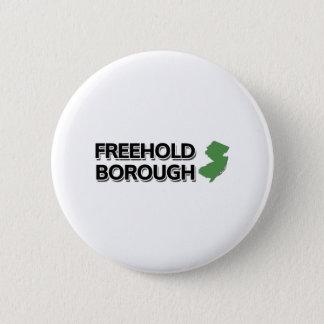 Freehold Borough, New Jersey Pinback Button