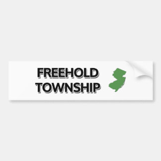 Freehold Township, New Jersey Bumper Sticker
