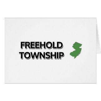 Freehold Township, New Jersey Card