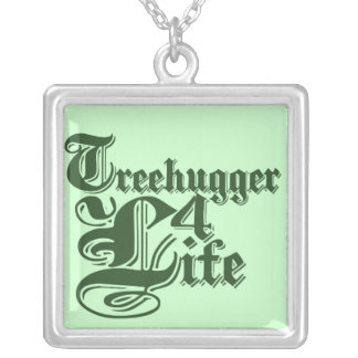 Freehuger 4 life square pendant necklace