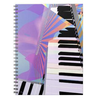 Freeing Keyboard Music Notebook