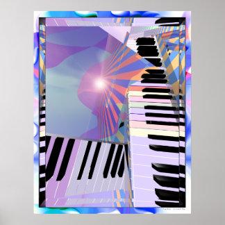 Freeing Keyboard Music Poster