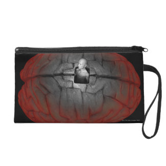 Freeing the Mind Wristlet Clutch