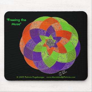 """Freeing the Muse"" Mousepad"