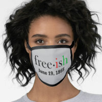 Freeish Juneteenth All-Over Print Face Mask