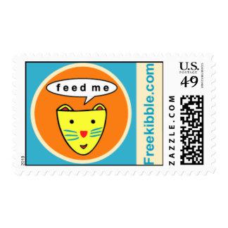 "Freekibble ""feed me"" Kat Postage"