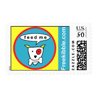 "Freekibble ""feed me"" postage"