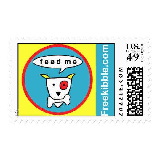 "Freekibble ""feed me"" postage"
