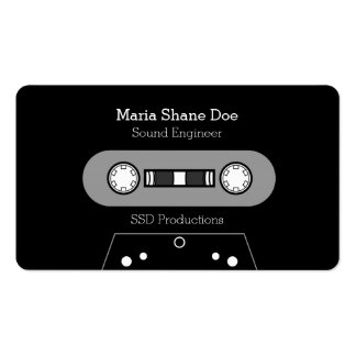 Freelance Musician Professional Business Card