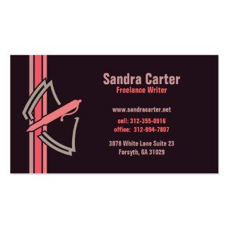 Freelance Writer Business Card