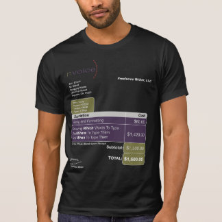 Freelance Writer DarkColor T-Shirt