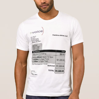 Freelance Writer Light T-Shirt