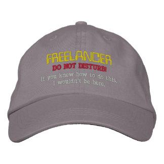 Freelancer: Do Not Disturb Embroidered Baseball Hat