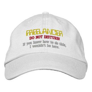 Freelancer: Do Not Disturb Embroidered Hats