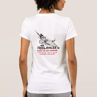 Freelancer - do not disturb tee shirts
