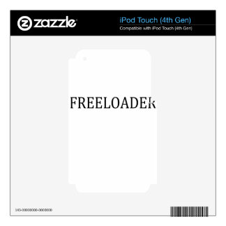 freeloader iPod touch 4G decals