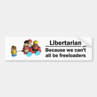 Freeloaders Bumper Sticker