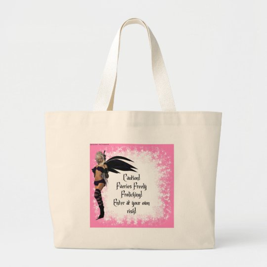 Freely Frolicking Faeries! Large Tote Bag