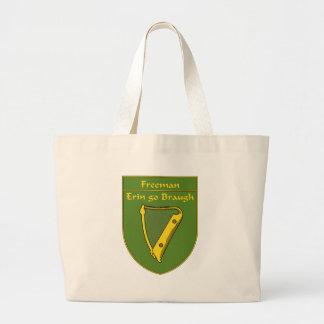 Freeman 1798 Flag Shield Large Tote Bag