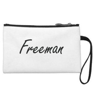 Freeman Artistic Name Design Wristlet