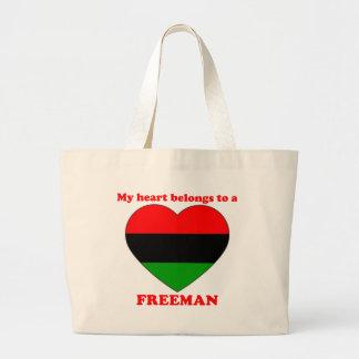 Freeman Jumbo Tote Bag