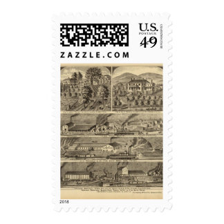 Freeman Brothers Works, Ohio Stamps