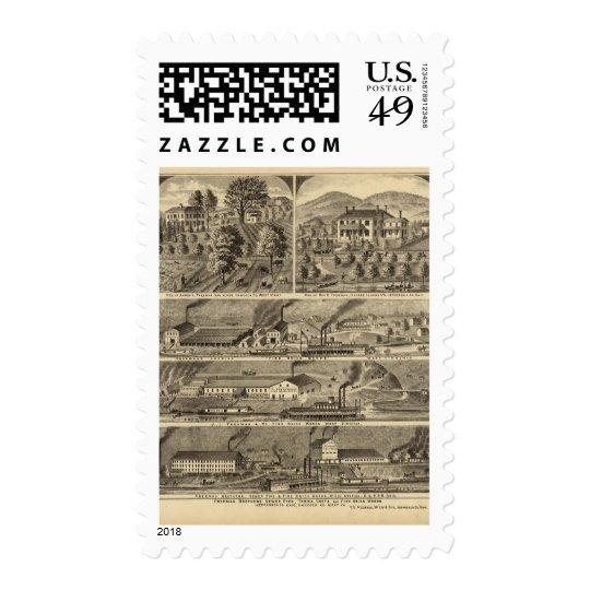 Freeman Brothers Works, Ohio Postage