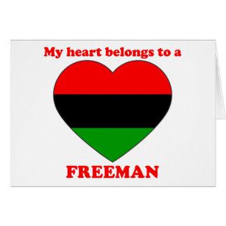 Freeman Cards