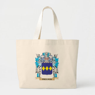 Freeman Coat of Arms - Family Crest Tote Bags