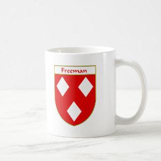 Freeman Coat of Arms/Family Crest Coffee Mug